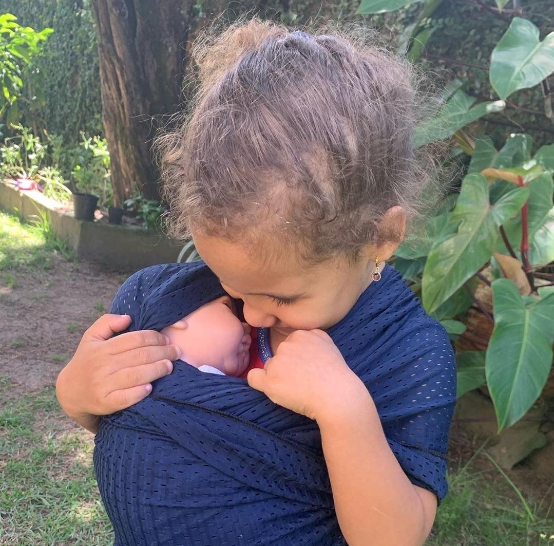 Sling infantil para bonecas Premium