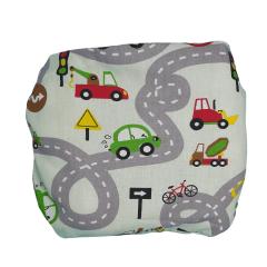 Fronha para travesseiro ergonômico para bebês