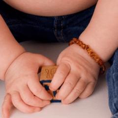 Pulseira ou tornozeleira para bebê