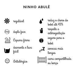 Kit Bem Nascer - 1 Ninho + 1 Sling premium