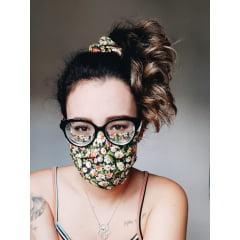 kit de 2 Máscaras de Tecido tripla camada