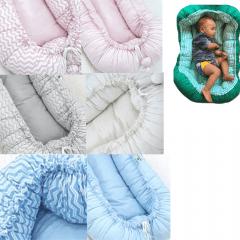Kit Sling para bebe e ninho redutor de berço