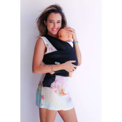 Sling para Bebê Premium Preto