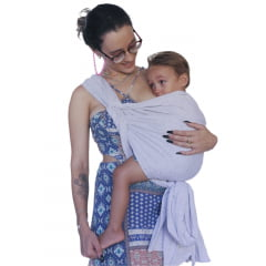 Sling Para Bebê 100% Algodão